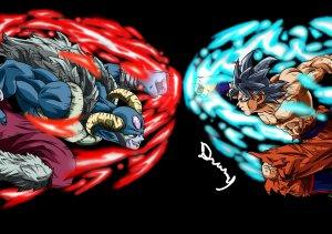 Dragon Ball Goku vs Moro