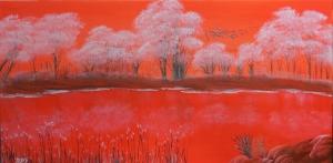 LLac barmell...Lago rojo