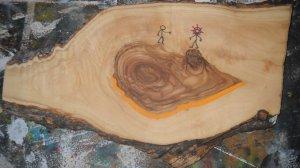 Olive wood stick 1.