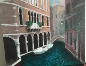 Modern landscape Venice