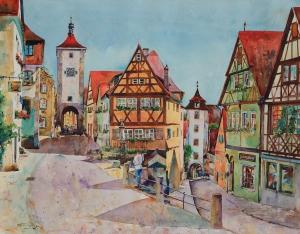 Rothenburg Ob Der Tauber  50x39.5  2006.JPG
