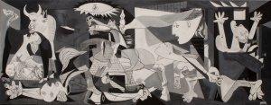 Oil replic of Guernica (Pablo Picasso) Oil replica of Gernika 100x40