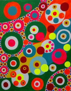 Abstract Pointillism by: Gabino Amaya Cacho