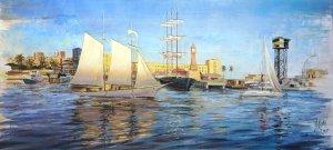 Barcelona - Impressionist seascape oils of the Mediterranean