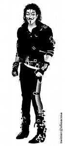 Guy Fawkes/Michael Joseph Jackson