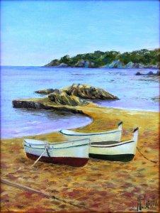Calella de Palafrugell 2 (Costa Brava). Marine paintings