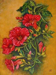 Flores rojas 1