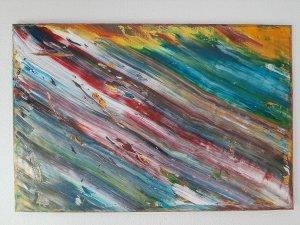 The Sounds of Color, 90x60 cm, Christmas sales, 180 euros