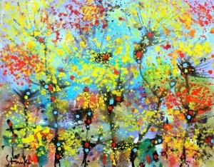 Lonely trees-XV