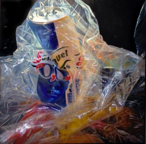 Beer and plastic
