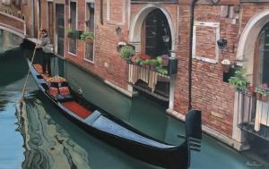 El agua de Venecia.