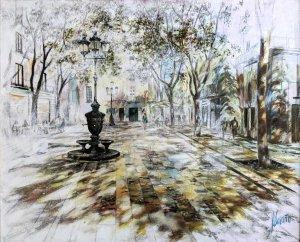 Plaza de Sant Agustí Vell. Borne de Barcelona