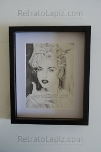 Madonna @Retratolapiz