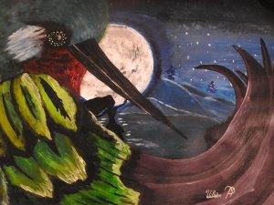 el llanto del colibrí