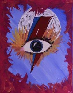 David Bowie ojo