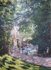 Estudio Parque Monceau de Monet