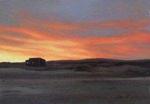 Landscapes of Memory. oil on cardboard, 2012.