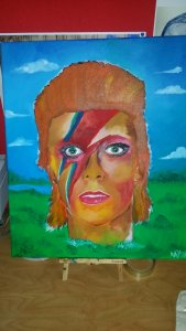 Pop art DAVID BoWIE