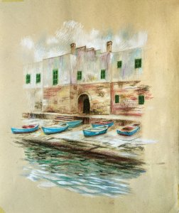 Polignano a mare. Pinturas originales