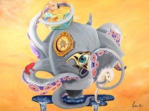 Octo-Elephant pop surrealism.jpg
