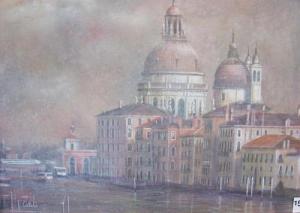 Ref No. 59 Basilica of Santa Maria. Venice 33 46 x cm.jpg