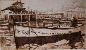 Grabados de marinas