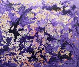 Violet tones