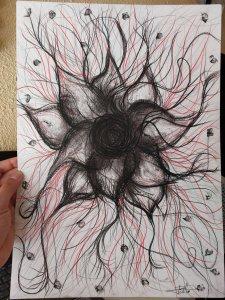 Mourning flower