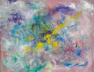 Abstract 2020 146X114 CM
