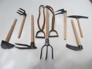 varied tools