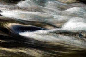 Agua en movimiento.