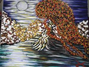 Hair tree Moonlit