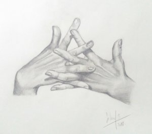 """From the series """"hands"""" 1"""