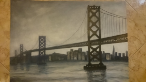 Oakland Bay Bridge ( San Francisco )