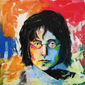 Imaginación, Retrato de John Lennon
