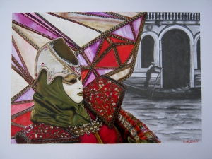 Venice Carnival: Diamond Mask.