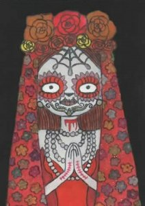 Catrina of joyous sorrows