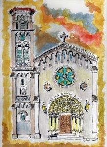 Parish Church of Santiago Aposto in Nuñez.