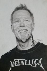 Drawing James Hetfield