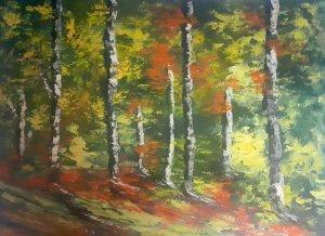 Painted cardboard 4