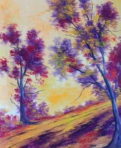 Sweet landscape ... 65x54 cm
