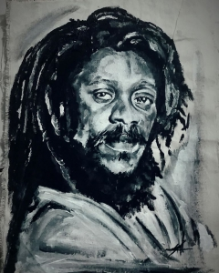 Retrato de Dennis Brown