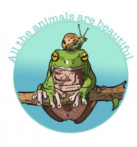 All the animals are beautiful