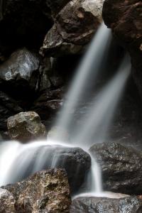 Cascada en el rio calera.