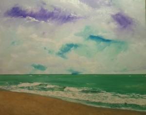 Playa calmada