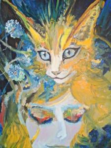 Sunny cat/Gato del Sol
