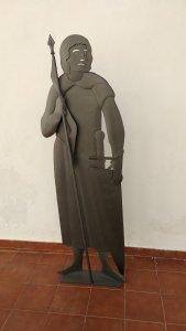 Sculpture Lancer Soldier