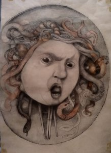 """HEAD OF MEDUSA"""