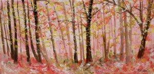 Llegada primaveral en el bosque