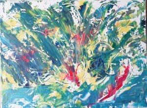 """"""" Tormenta tropical """", 40x30 cm, 60 euros"""
